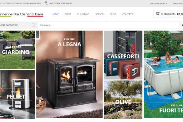 Sviluppo sito e-commerce Ferramenta Centro Italia