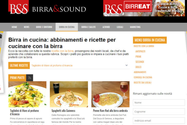 Consulenza SEO e strategia di marketing online per Birra&Sound