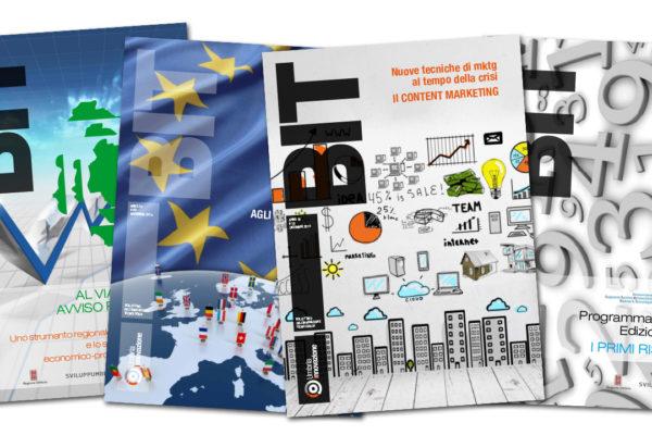 Rivista BIT e sito programma i-Start per Sviluppumbria