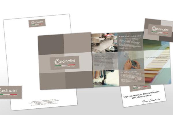 Brand identity e sviluppo sito web per Cardinalini Spa