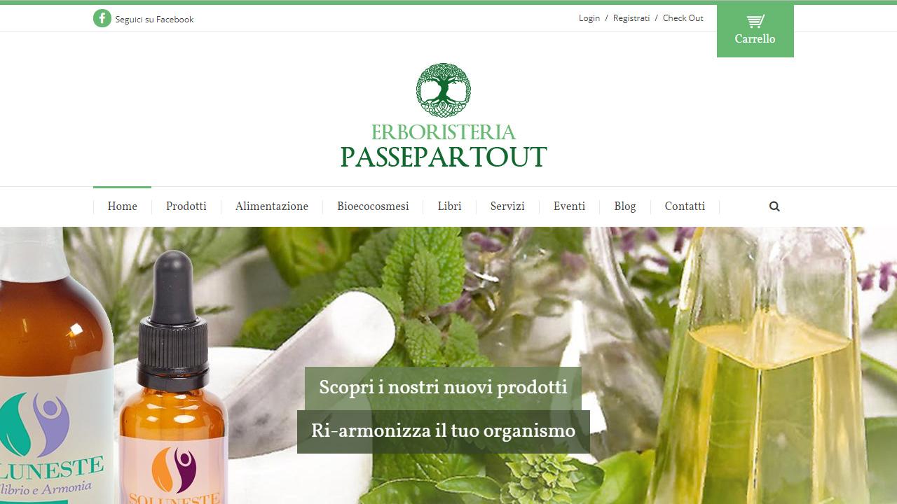 sito e-commerce erboristeria