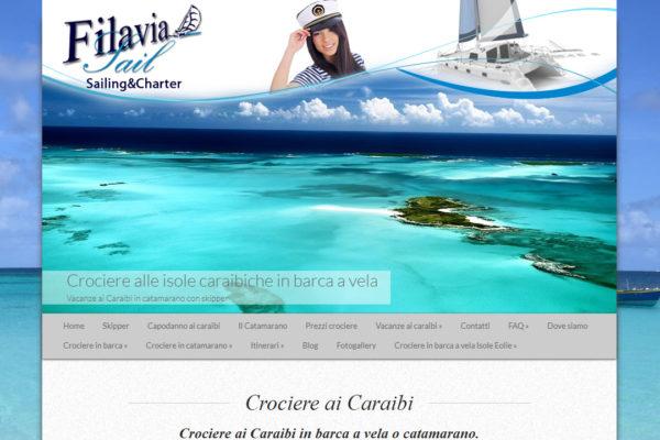 Realizzazione sito e ottimizzazione SEO FilaviaSail