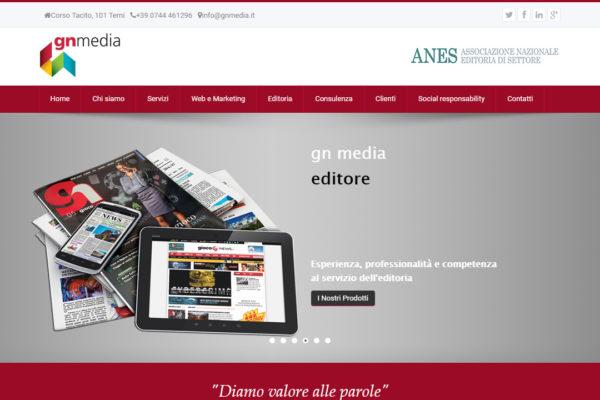 Creazione sito web GN Media