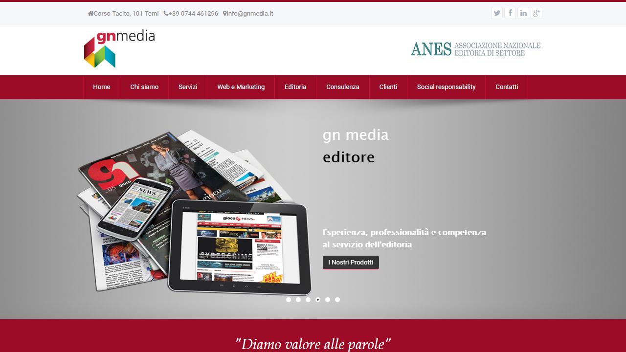 sito gn media editore