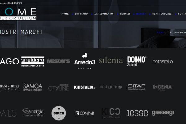 Realizzazione sito Interior Design