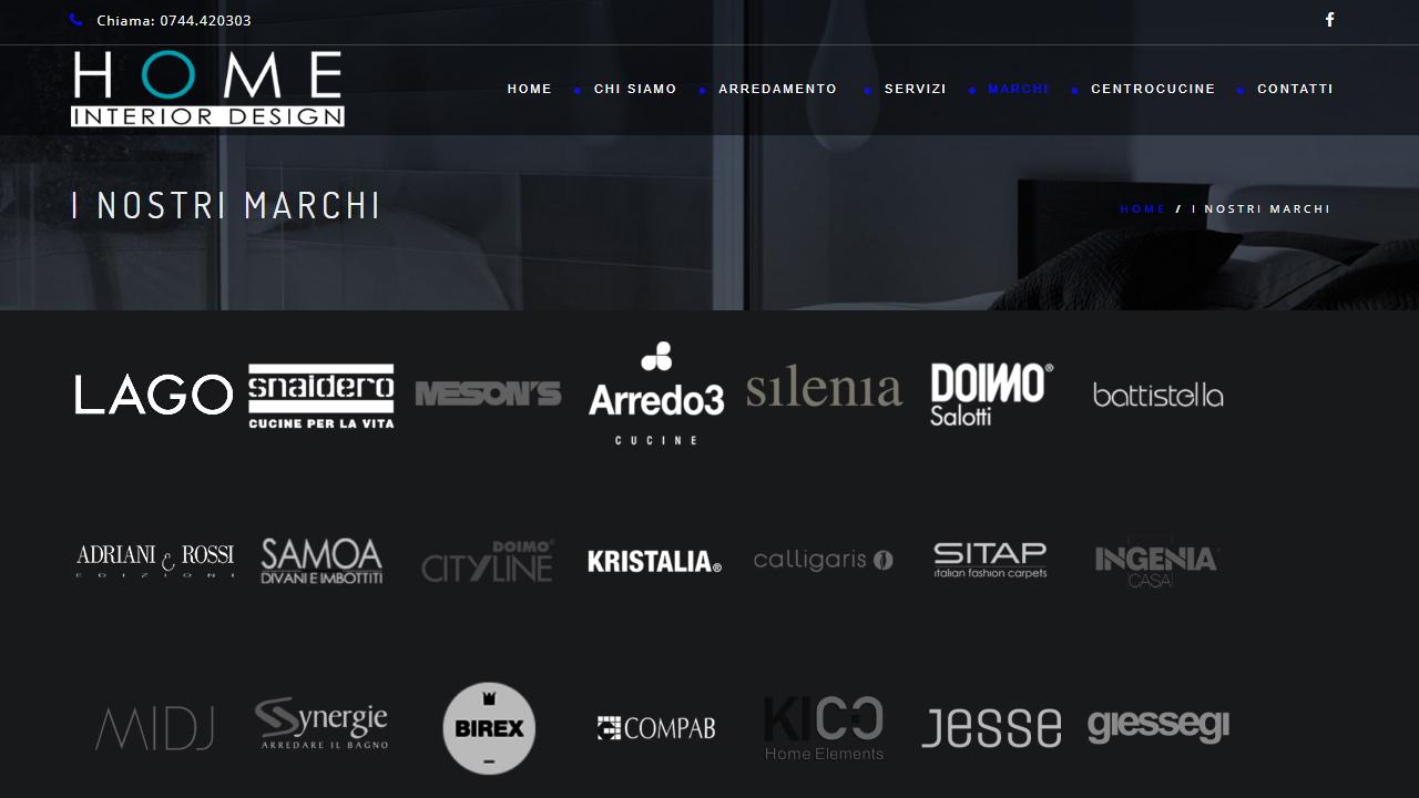 sito web arredamento