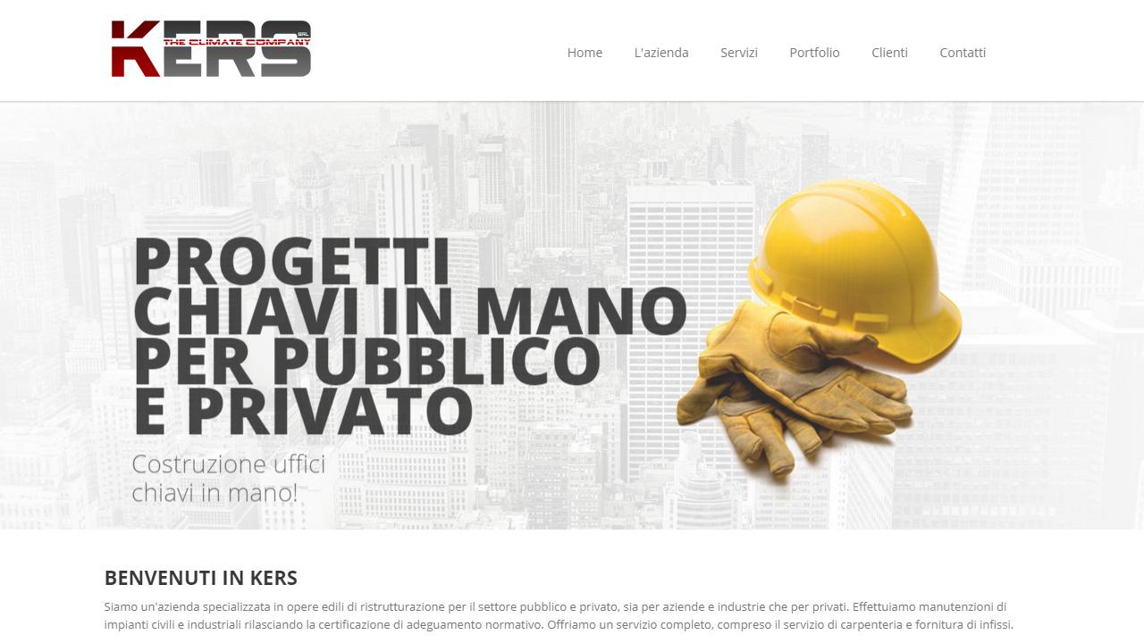 sito web azienda edile