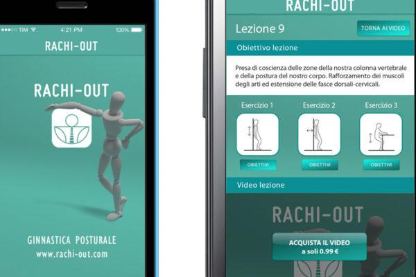 Sviluppo App e sito e-commerce Rachi-Out