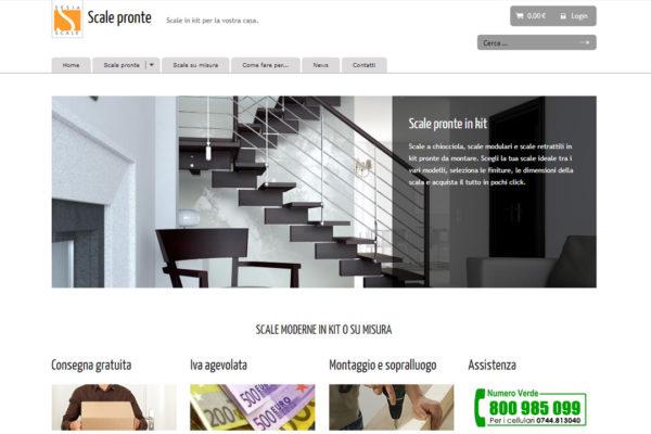 Creazione sito e-commerce ScalePronte