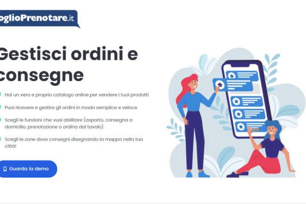 VoglioPrenotare.it – App menu digitale, asporto e delivery